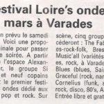 """""""1er festival Loire's Ondes, le 31 mars à Varades"""""""