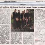 """""""La troisième édition du festival Loire's Ondes se dévoile"""""""