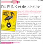 """""""Du funk et de la house !"""""""